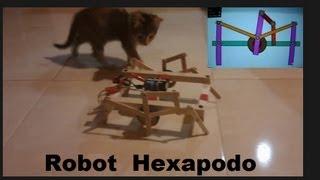 ✅ Robot Araña o Hexapodo  ❗como se hace❗