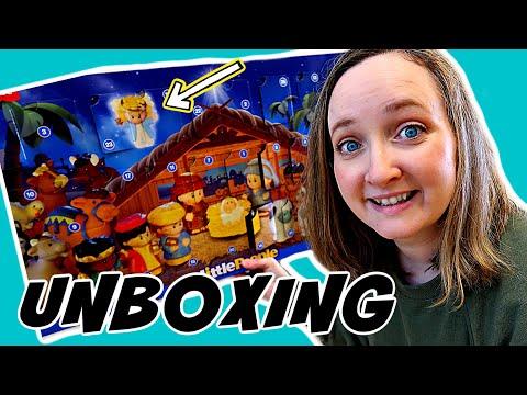 Little People Advent Calendar Unboxing