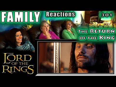 The Lord of the Rings | 301 | The Return of the King | FAMILY Reactions | Fair Use