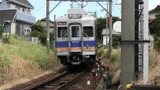 南海6000系 在りし日の 6009F充当、快速急行運用を、橋本駅で観察する。 2019