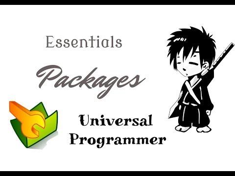 Installing python modules using pip, wheel, github, setup.py   Essentials   Universal Programmer