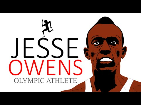 Jesse Owens for Kids! Here's an educational cartoon on Jesse Owens (Black History Month)