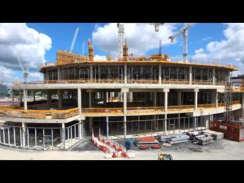 New Papworth Hospital - Timelapse at 400 days