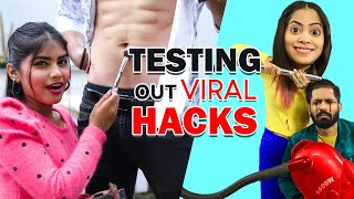 Testing Out VIRAL 🔥BOYS🔥 HACKS | Anaysa