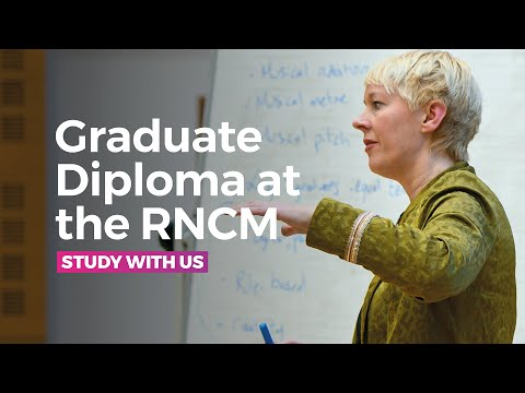 Graduate Diploma at the RNCM - 'Joint Course' with The University of Manchester