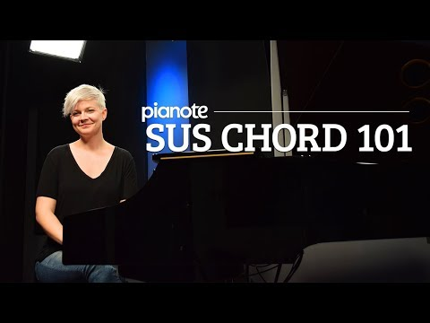 Suspended Piano Chords 101 - Piano Lesson (Pianote)