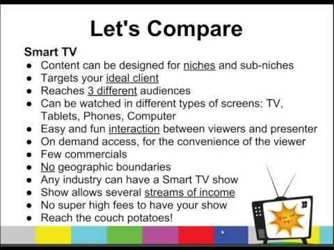How To Host Your Own TV Show