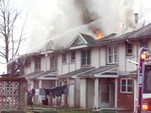Hillcrest Apartments Fire (1) - YouTube