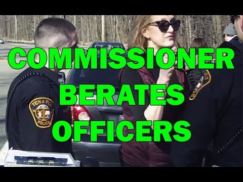 Commissioner Berates NJ Officers On Video, Then Resigns  - LEO Round Table episode 545