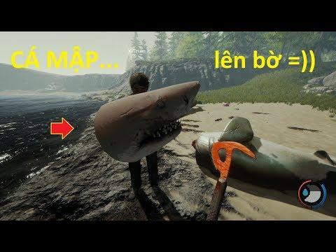 The Forest 1  Game Kinh Dị Siêu Hài, Cá Mập Lên Bờ =))