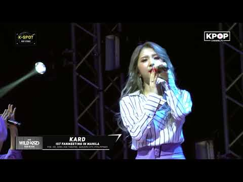 [HOT STAGE] Trust Me - KARD in Manila 180209