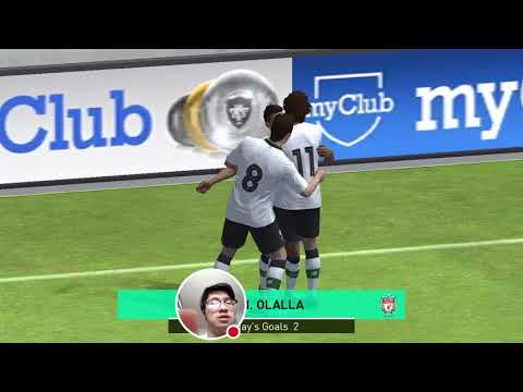 PES 2018 Mobile - Liverpool FC vs. Arsenal FC: AWESOME Online Match #12