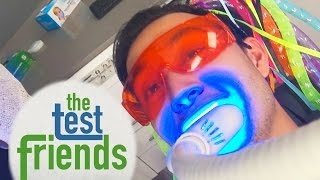 We Tried Professional Teeth Whitening • The Test Friends