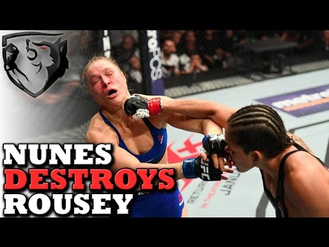 Thumbnail: Rousey vs Nunes... What Happened to Ronda at UFC 207?
