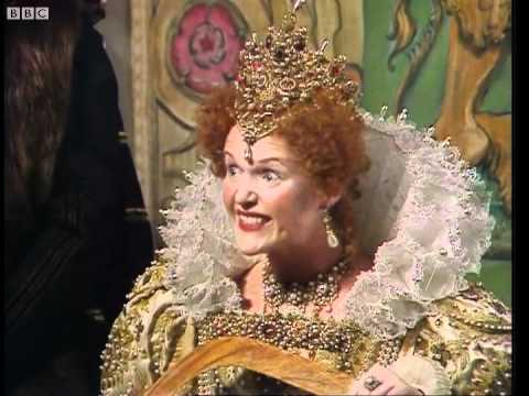 Where's My Pressie?  Blackadder  BBC