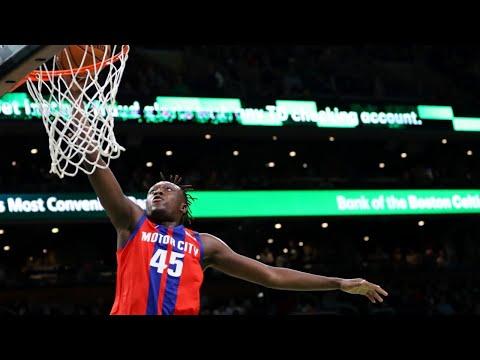 Sekou Doumbouya Highlights Vs. Boston Celtics! 24 Points, 10-13 Shooting! 1/15/20
