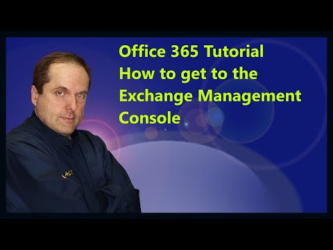 Office 365 Tutorial  How To Get To The Exchange Management Console