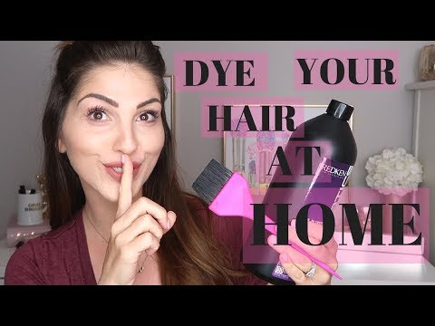 SECRETS FROM A HAIRSTYLIST/ HOW TO DYE YOUR HAIR AT HOME / TIPS & TRICKS FOR DYEING YOUR HAIR - YouTube