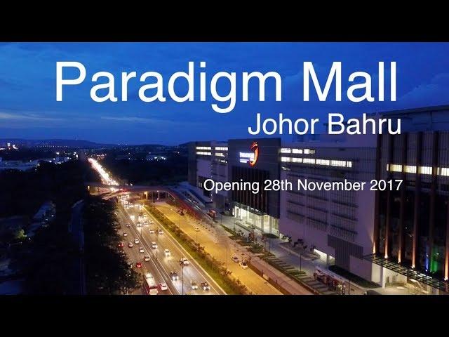 Progress of Paradigm Mall Johor Bahru, as at 6th June 2017