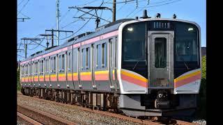 【鉄道走行音】JR信越本線普通 E129系(新潟→長岡)