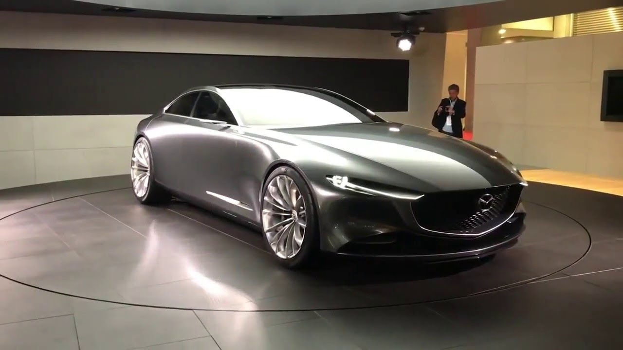 2020 Mazda 6 Vision Coupe Concept Looks Like Sex Youtube