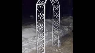 Свадебная арка для выездной церемонии