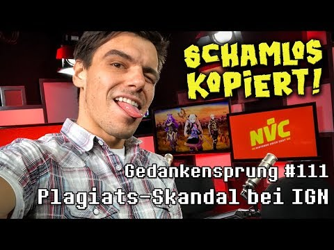 Plagiats-Skandal bei IGN ~ Gedankensprung #111 (Podcast)