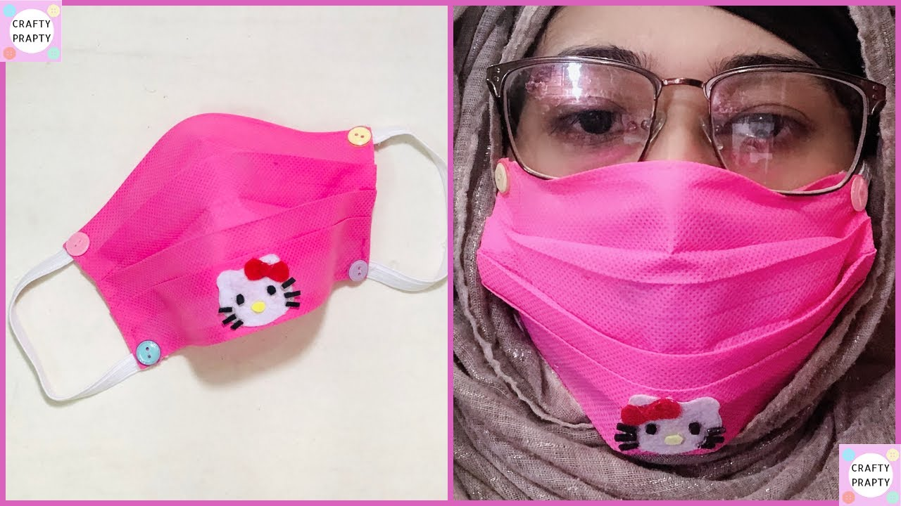 n95 mask hello kitty