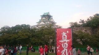 真田丸・大阪城でのパブリックビューイングイベントの様子です。ゲスト...