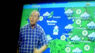 CLIP0008 ITV 1 WEATHER FOR WED 12/01/11 WITH FRED TALBOT
