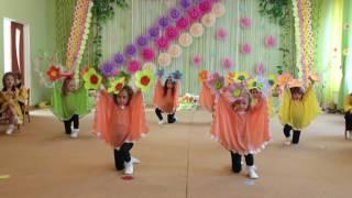 Танец с  бумажными цветами для мамы (младшая группа)д/с №306 Одесса