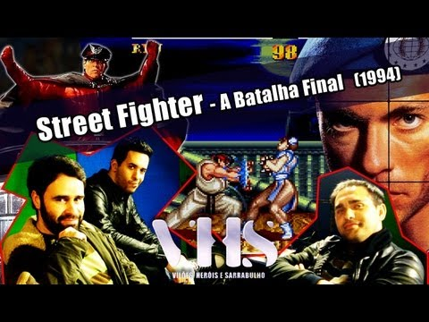 Review - Street Fighter (1994) // VHS