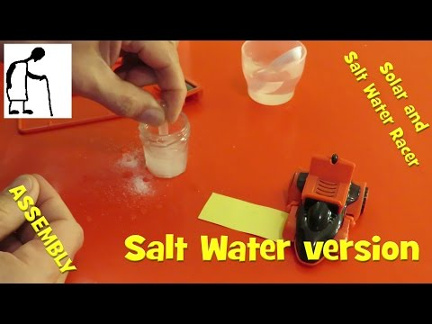 Solar and Salt Water Racer - Salt Water version