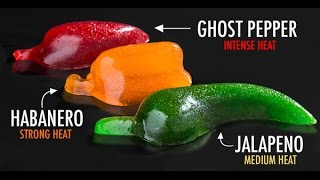 Ghost Pepper, Habanero, & Jalapeno Gummy Russian Roulette