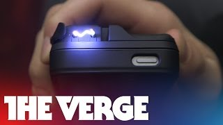 YellowJacket iPhone taser-case hands-on