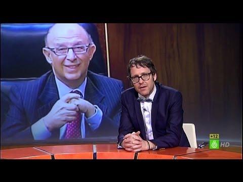 """Joaquín Reyes en El Intermedio: """"¿Qué demonios tiene Montoro en la almendra en ese momento?"""""""