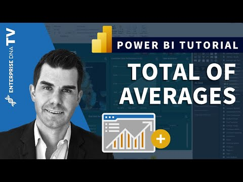 Calculate The Total Of Average Results In Power BI Using DAX