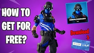 How to Get Carbon Commando Skin for Free in Fortnite Battle Royale?!