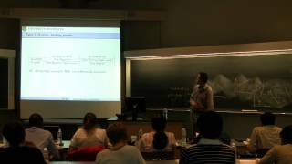 Rui Hu: Statistical Methods in Bioinformatics (2012 CBIM Summer School)