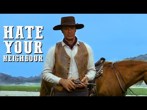 Hate Your Neighbour | WESTERN Action Movie | Spaghetti Western | English | Cowboy Film