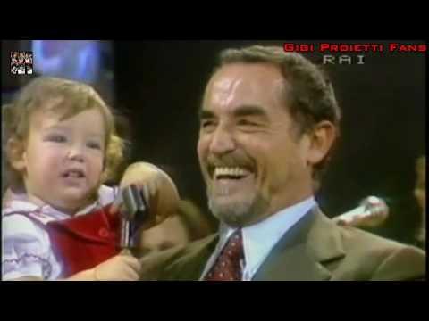 Gigi Proietti imita Vittorio Gassman nella lettura di Dante Blitz 1982