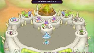 We are the crystals gems in My Singing Monsters