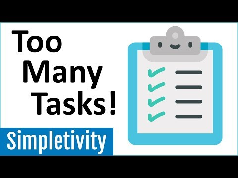 To-Do List Overload! How To Manage Too Many Tasks