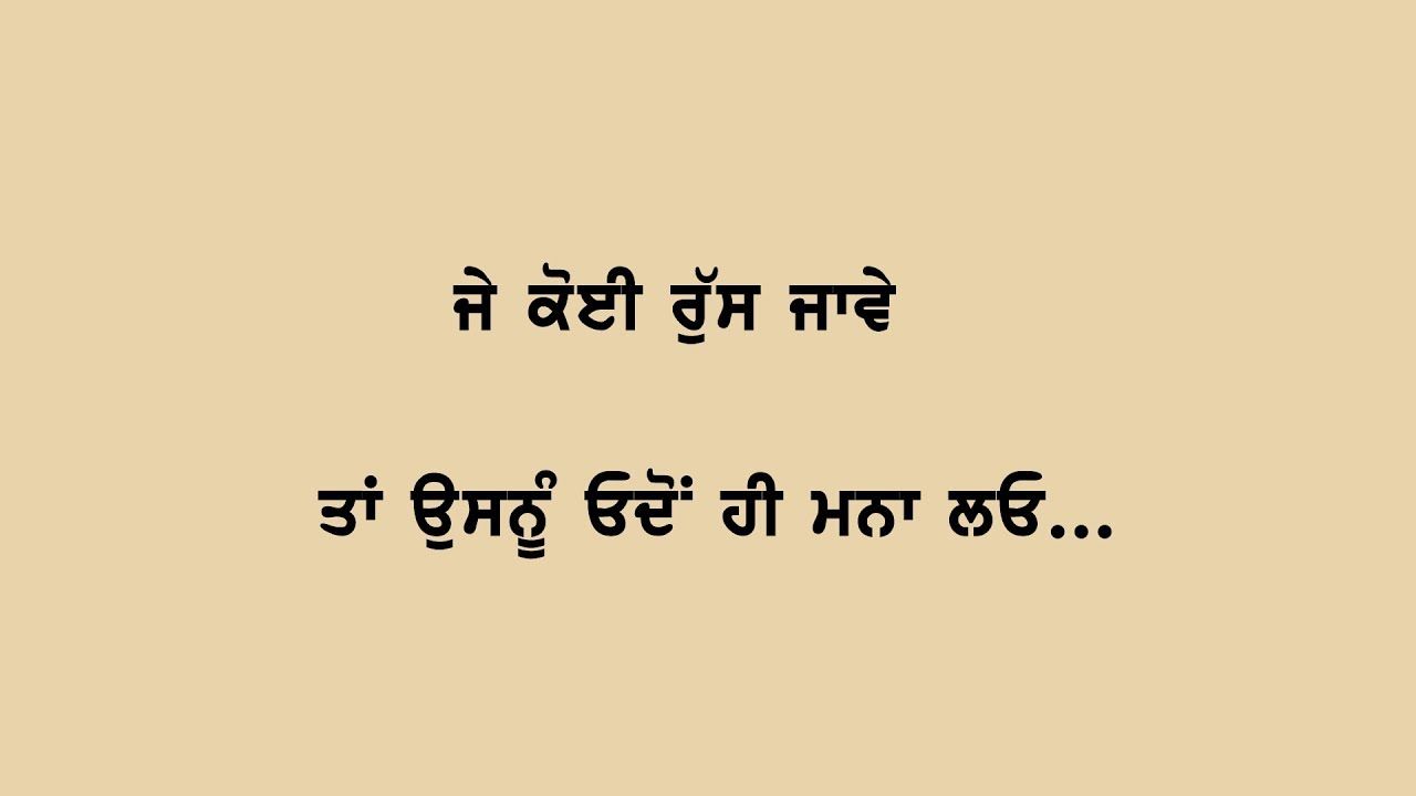 Punjabi Inspirational Quotes About Life To Motivate You Best