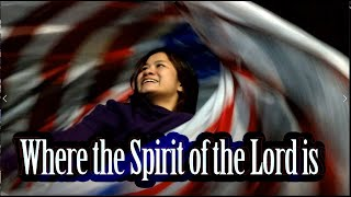 Worship Flags Dance Flagging Where the Spirit of The Lord Is  CALLED TO FLAG ft Claire