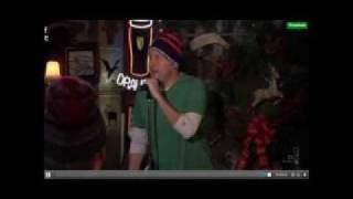 Marshall sings Let