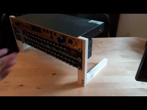 Build a mega cheap 19'' rack frame mount