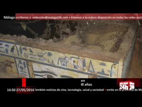 Málaga 24h TV - Arqueólogos de la UJA descubren en Egipto una momia de 3.800 años