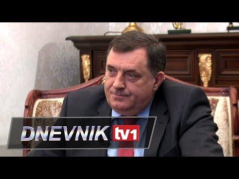 Dodik za TV1 - Za dogovor sam, vrijeme je za domaće političare