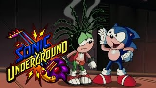 Sonic Underground 132 - Haircraft in Flight